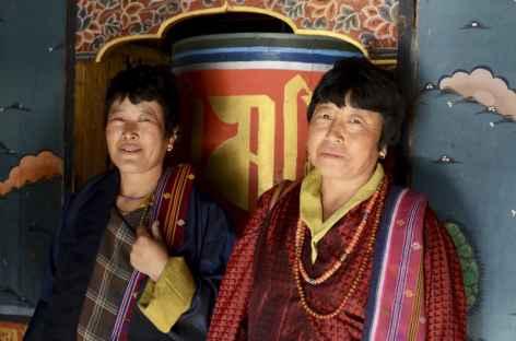 Deux amies - Bhoutan -