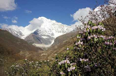 Le Tserim Kang depuis Lingshi - Bhoutan -