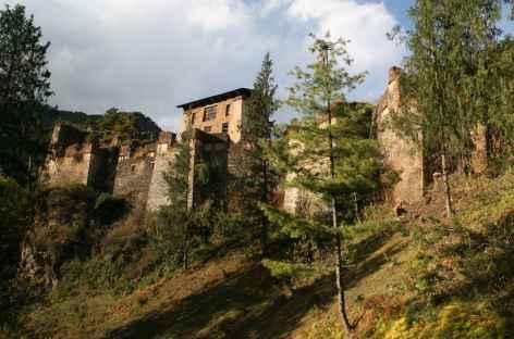 Ruines de Drugyel dzong - Bhoutan -