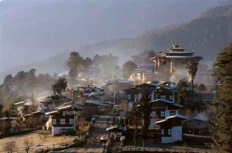 Monastère de Gangtey - Bhoutan -