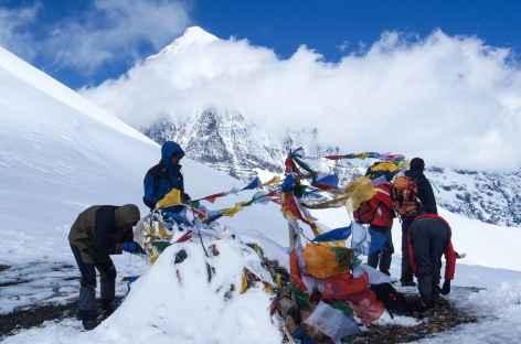 Traversée du Nyele La (4720 m) - Bhoutan -
