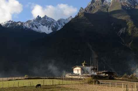 Petit temple de Laya - Bhoutan -