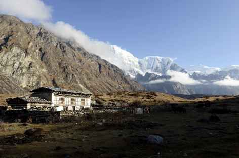 Dernier hameau de Thangza - Bhoutan -