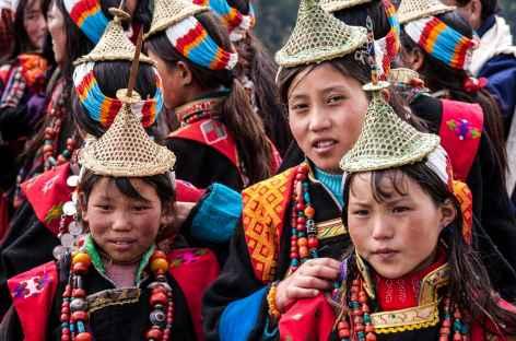 Jeunes filles de Laya - Bhoutan -
