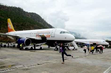 Les beaux Airbus de la Drukair - Bhoutan -