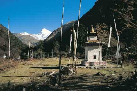 Première découverte du Jomolhari - Bhoutan -