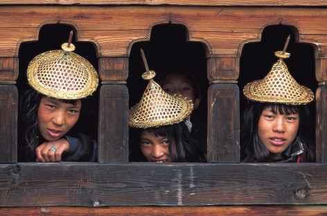 Laya, beautés locales - Bhoutan -