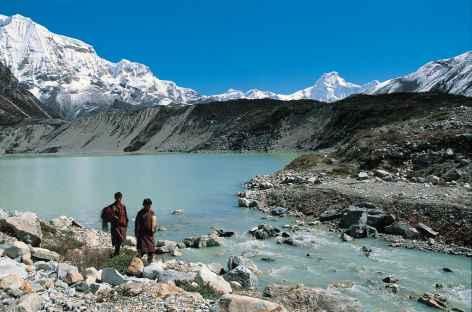 Lac glacaire au-dessus de Thangza - Bhoutan -