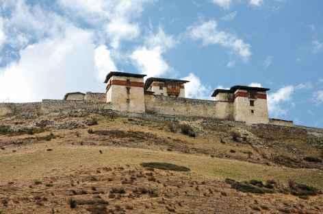L'ancien dzong de Lingshi - Bhoutan -