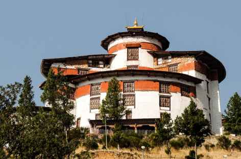 Le Ta dzong de Paro - Bhoutan -