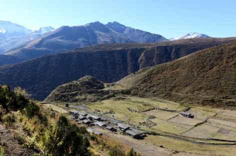 Départ de Chebisa - Bhoutan -