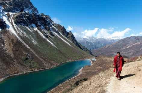 Montée au Kache La - Bhoutan -