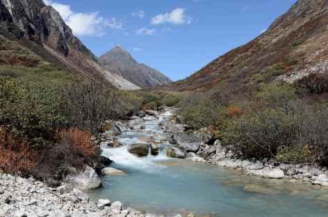 Descente vers Maorothang - Bhoutan -