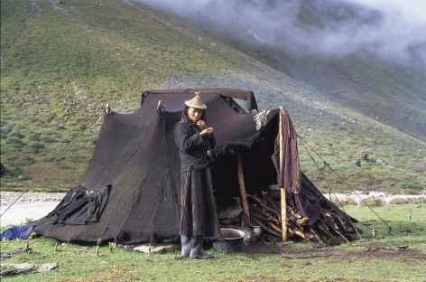 Tente de nomade Layap - Bhoutan -
