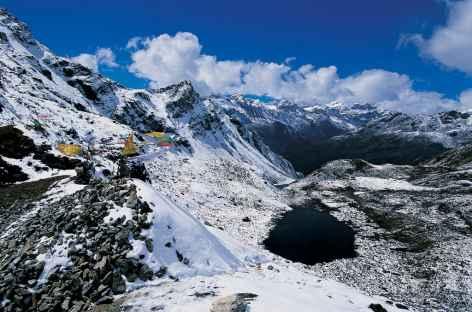 Arrivée au col du Kache La (4660 m) -