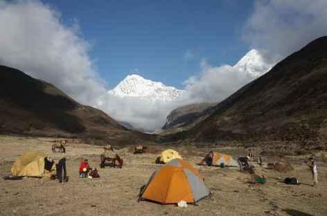 Camp de Lingshi - Bhoutan -