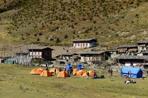 Camp de Chebisa - Bhoutan -