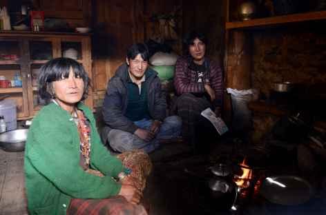 Une famille accueillante de Woche - Bhoutan -