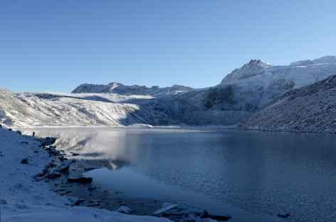 Le lac de Tsochena - Bhoutan -