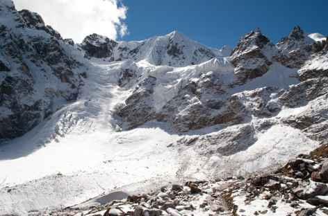 Glaciers sous le Ganglakarchung - Bhoutan -