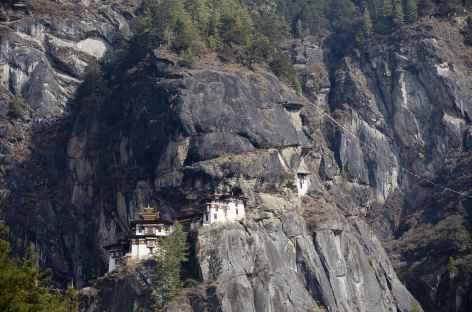 Le monastère de Taktsang accroché à la falaise - Bhoutan -
