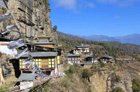 Le petit hameau de Dzongdrakha - Bhoutan -