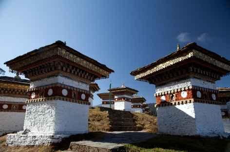 Chorten au col du Dochu La - Bhoutan -