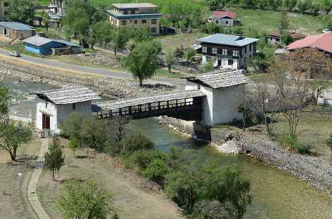 Pont couvert de Paro - Bhoutan -