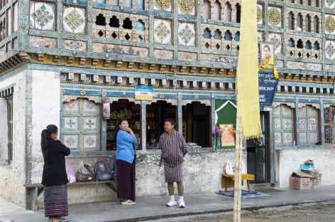 Les jolies maisons de Rangjung - Bhoutan -
