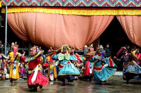 Danse des divinités terribles - Bhoutan -