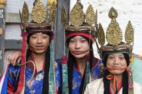 Prêts à la danse... - Bhoutan -