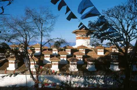 Le col de Dochu La - Bhoutan -
