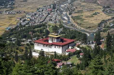 Balade au-dessus de Paro - Bhoutan -