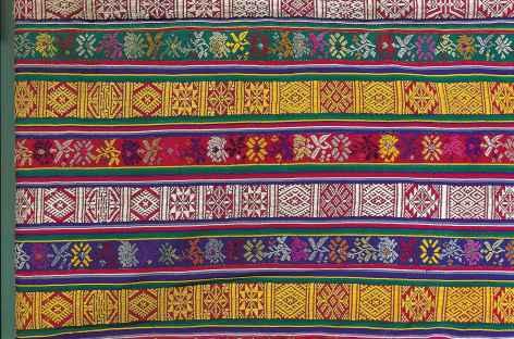 Tissage du village de Rangjung - Bhoutan -