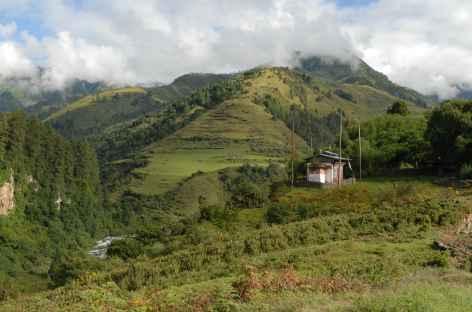 Paysage du Bhoutan -