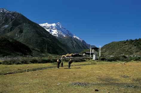 Choezo dzong au coeur de Lunana - Bhoutan -