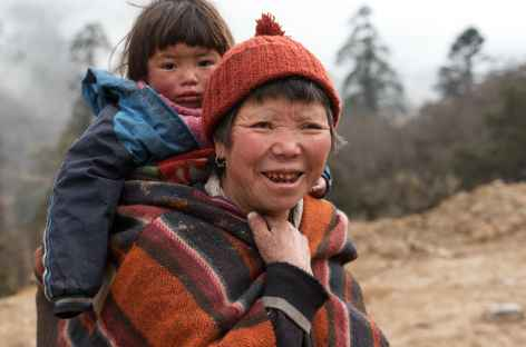 Portrait bhoutanaise -