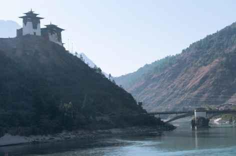 Dzong de Wangdiphodrang - Bhoutan -