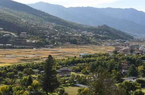 Vallée de Paro - Bhoutan -