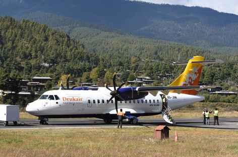 Aéroport de Bumthang - Bhoutan -