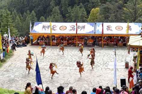 Festival de Dechenphu - Bhoutan -