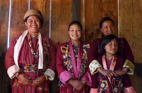 Thrakti - Femmes brokpas - Bhoutan -