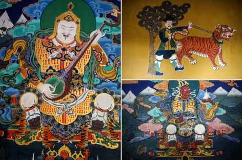 Dzong Paro-Bhoutan -