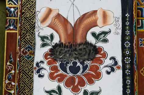 Peinture murale Bhoutan -