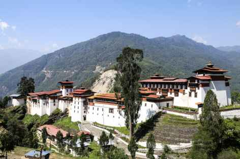 Dzong de Trongsa Bhoutan -