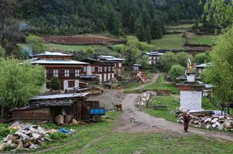 Village d'Ogyenchöling-Bhoutan -