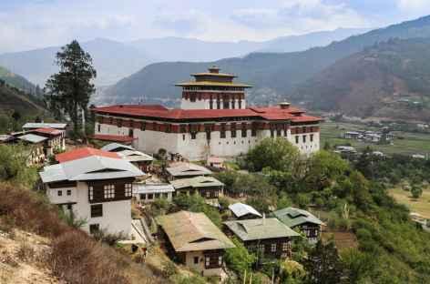 Dzong de Paro-Bhoutan -