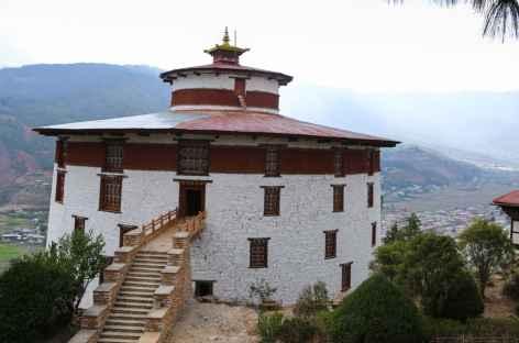 Tour de garde Paro-Bhoutan -