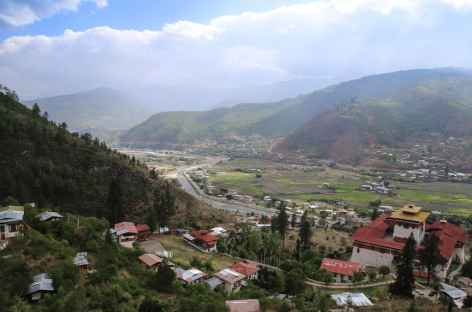 Vallée de Paro-Bhoutan -