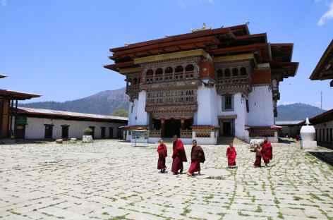 Monastère de Gangtey-Bhoutan -